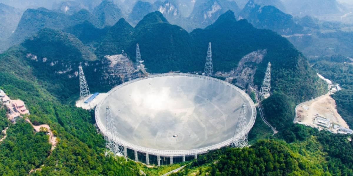 El telescopio chino FAST prestará servicios internacionales desde abril