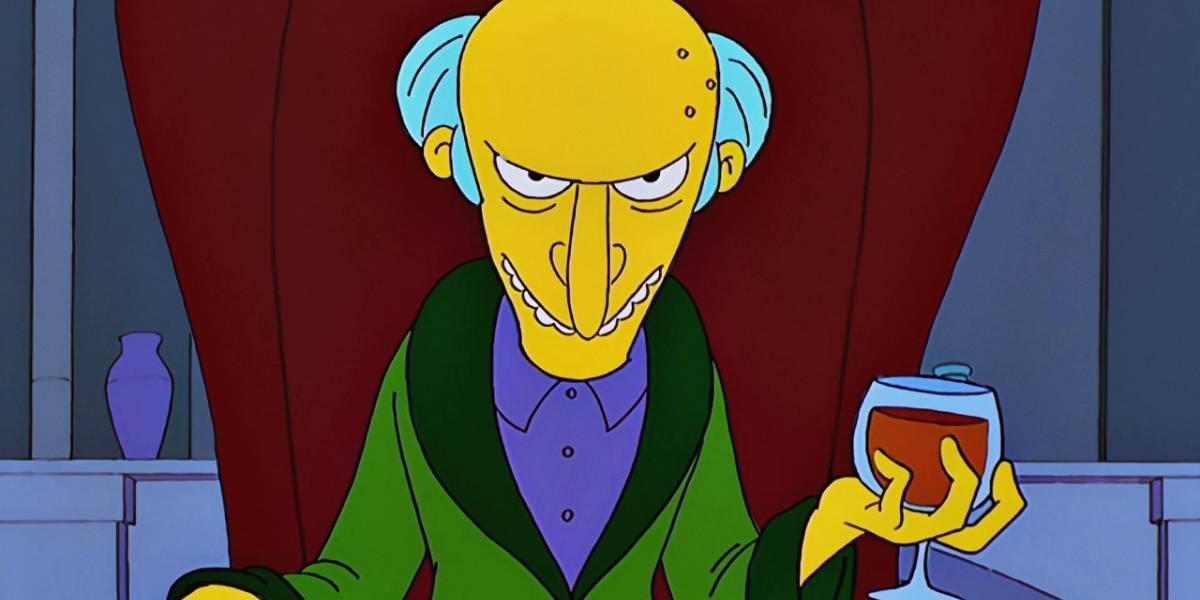 Los Simpson: teoría asegura que el Sr. Burns es un caníbal y hay muchas pruebas que la sustentan