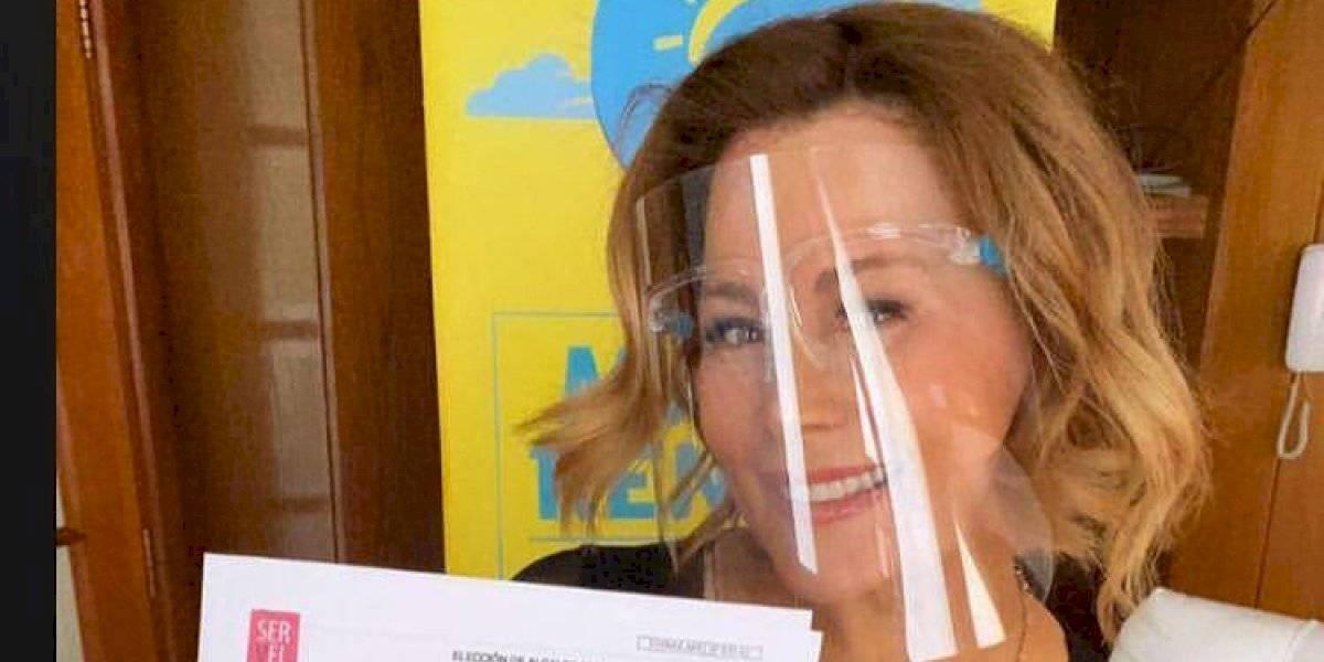 """Cathy Barriga busca la reelección en Maipú: """"Decidí con el corazón"""""""