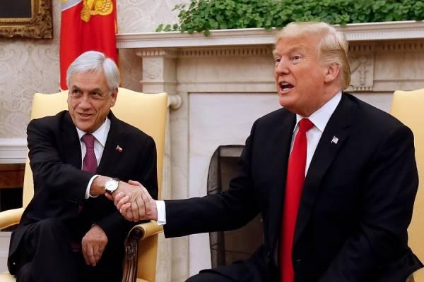 """Sebastián Piñera sobre toma del Capitolio: """"Chile confía en la solidez de la democracia estadounidense"""""""