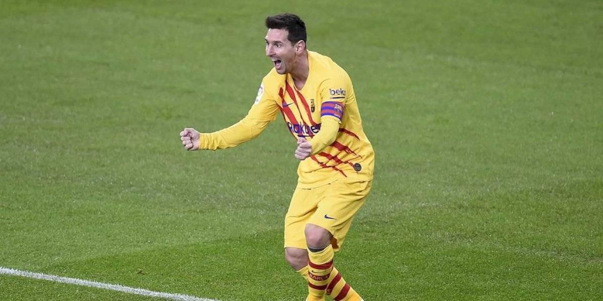 Messi se luce en triunfo del Barcelona sobre Athletic