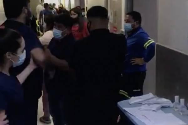 Hospital El Pino al rojo: habla familia de fallecido por covid y funcionarios de la salud protestan por falta de seguridad