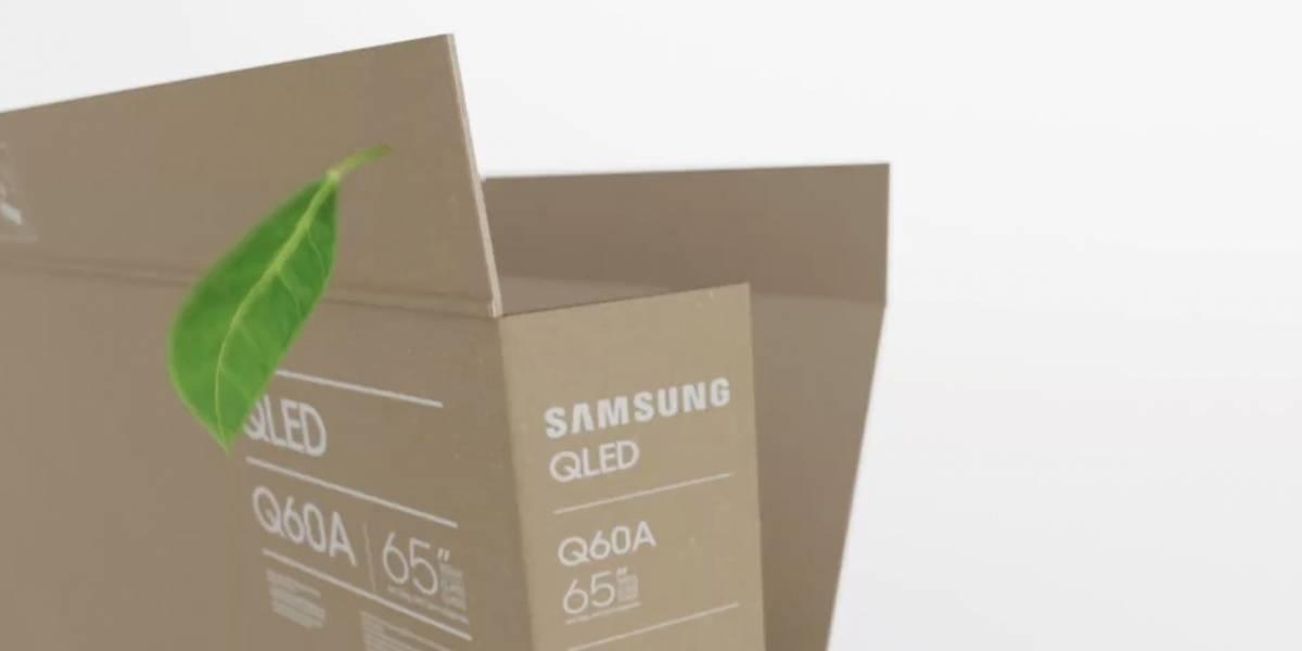 Samsung adelanta #CES2021 presentando empaques ecológicos en sus televisores