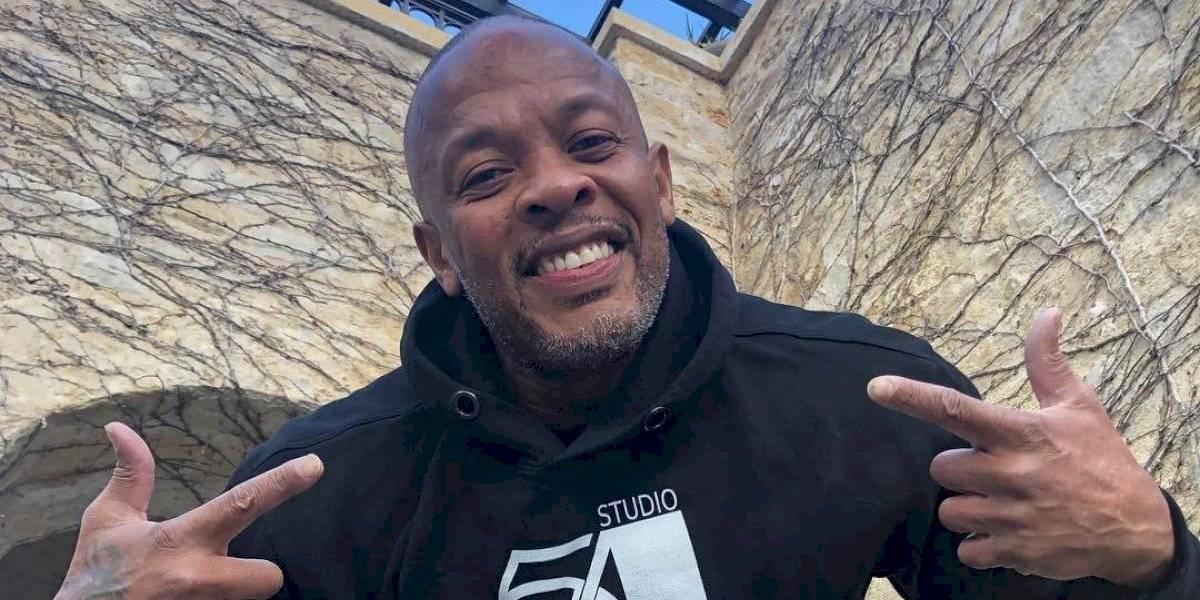 """""""Estoy muy bien"""": el mensaje de Dr. Dre tras ser hospitalizado por posible aneurisma cerebral"""