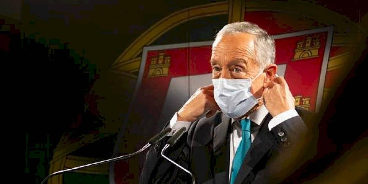 Aíslan a presidente de Portugal por contacto con caso positivo de covid-19