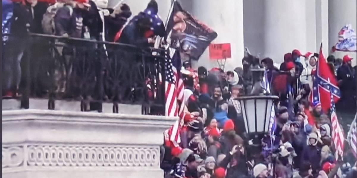 Protestas de fanáticos de Trump obligan al cierre del Capitolio y toque de queda en Washington