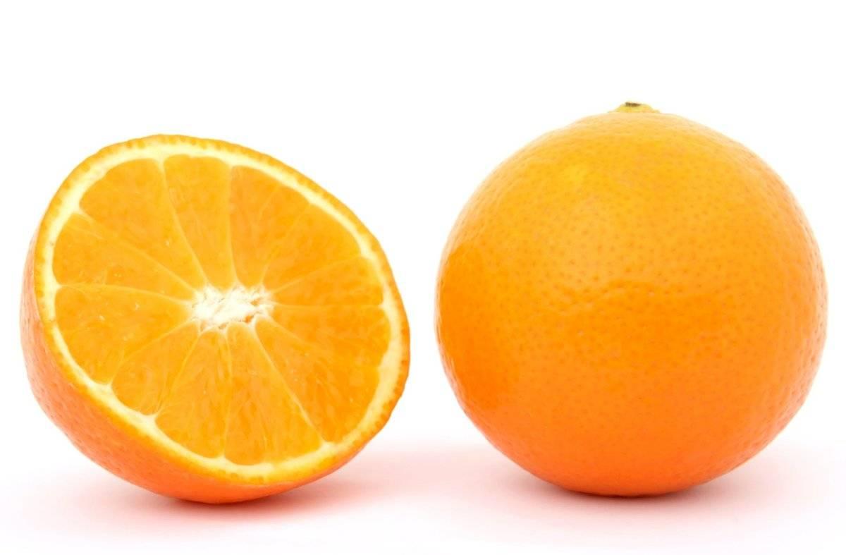 La naranja elimina el exceso de grasa.