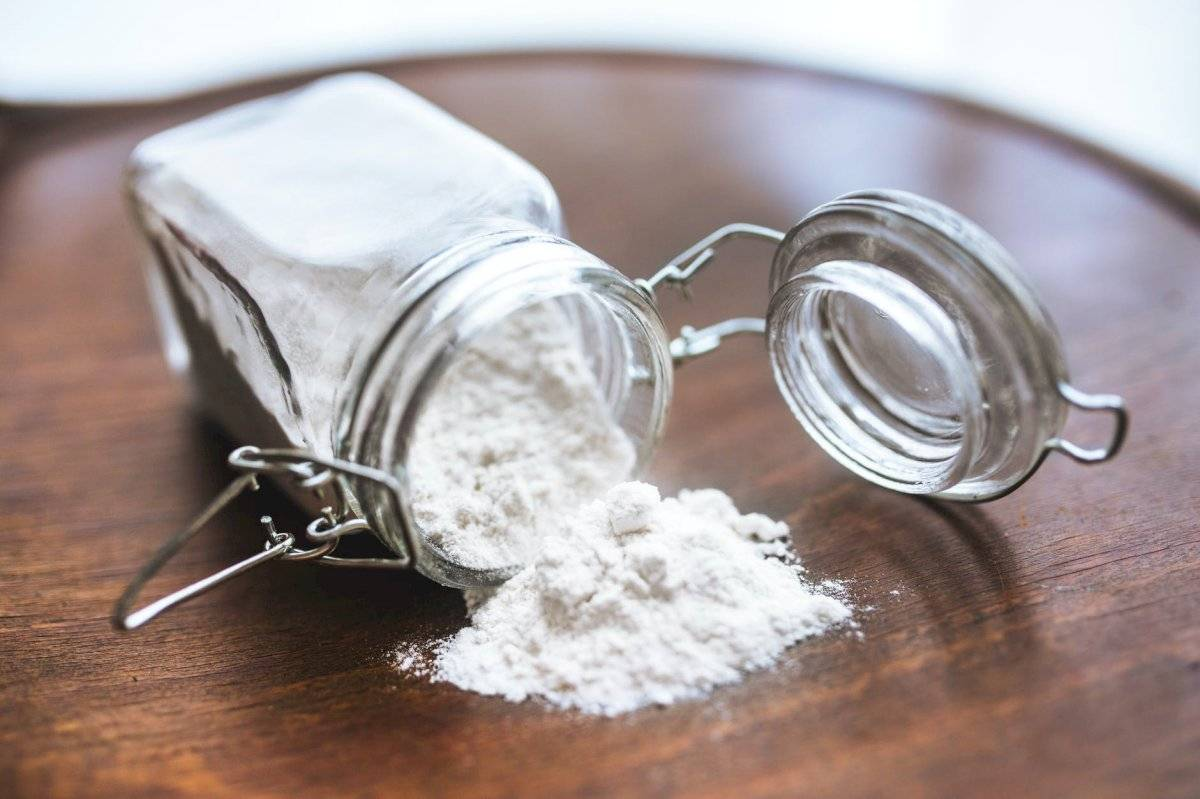 el bicarbonato de sodio en antiséptico.
