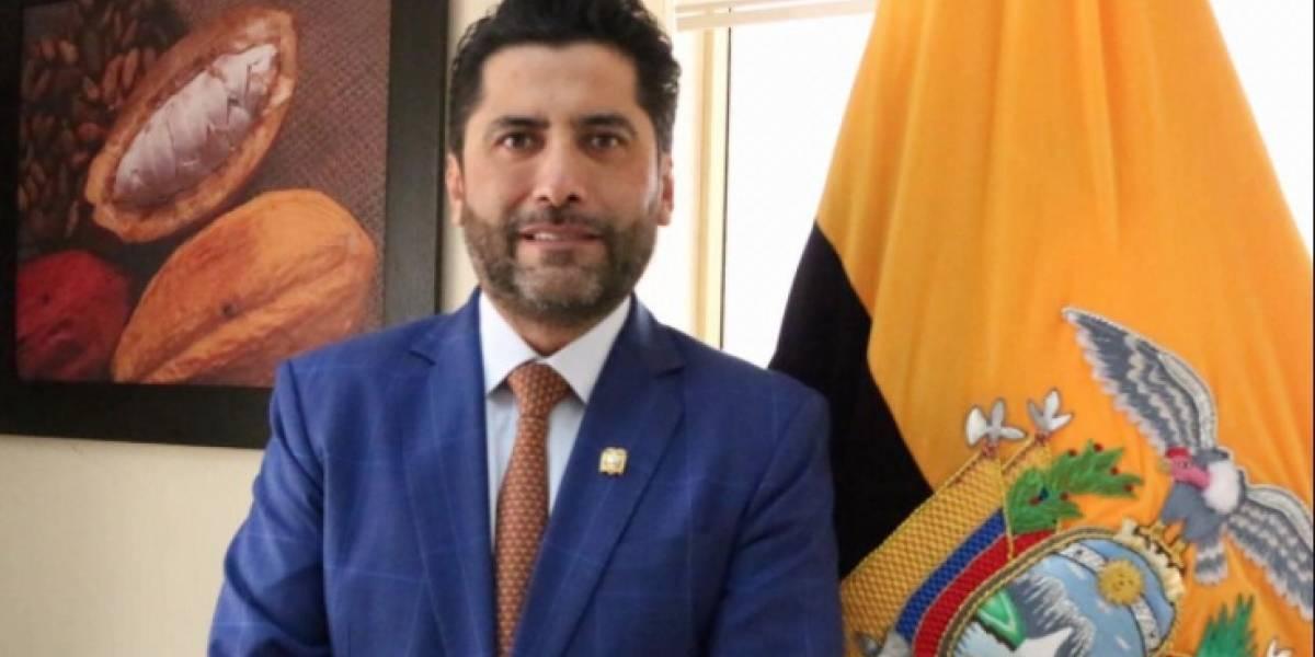 El ministro Iván Ontaneda da positivo al coronavirus