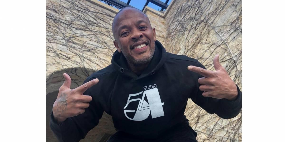 El rapero Dr. Dre reaparece luego de sufrir un aneurisma y da un nuevo parte de salud
