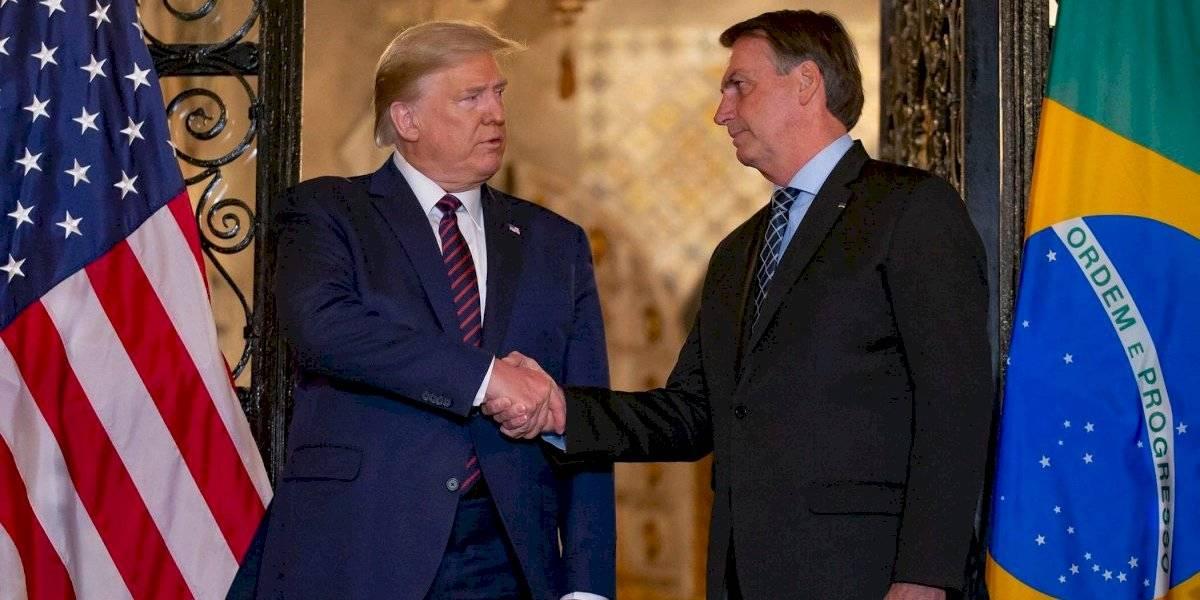 Bolsonaro sale en defensa de Trump