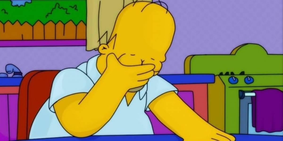"""""""Los Simpson"""" predicen catástrofe en la toma de posesión deJoe Biden como presidente de EU"""