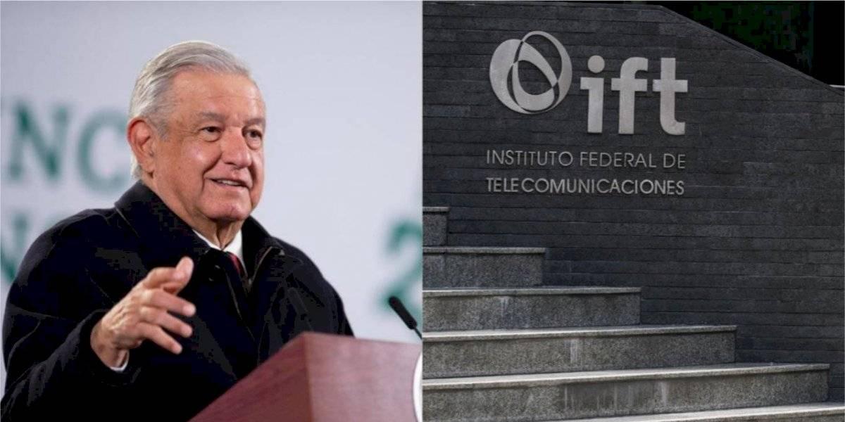 López Obrador propone reforma administrativa para IFT y otros organismos autónomos