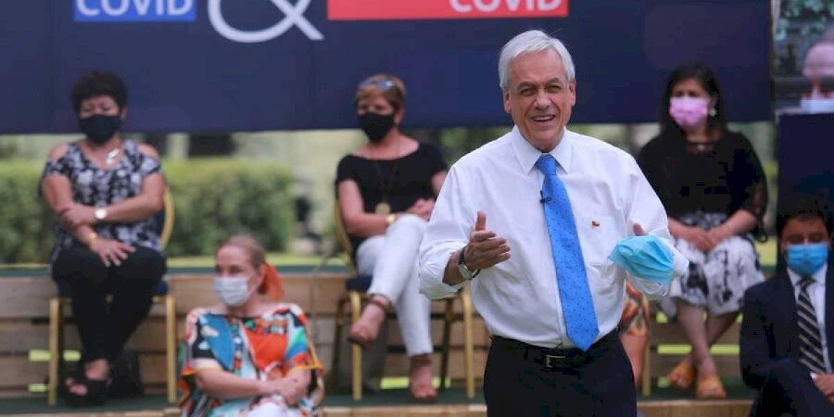 Piñera anuncia la entrega de tres nuevos bonos IFE para familias afectadas por la pandemia