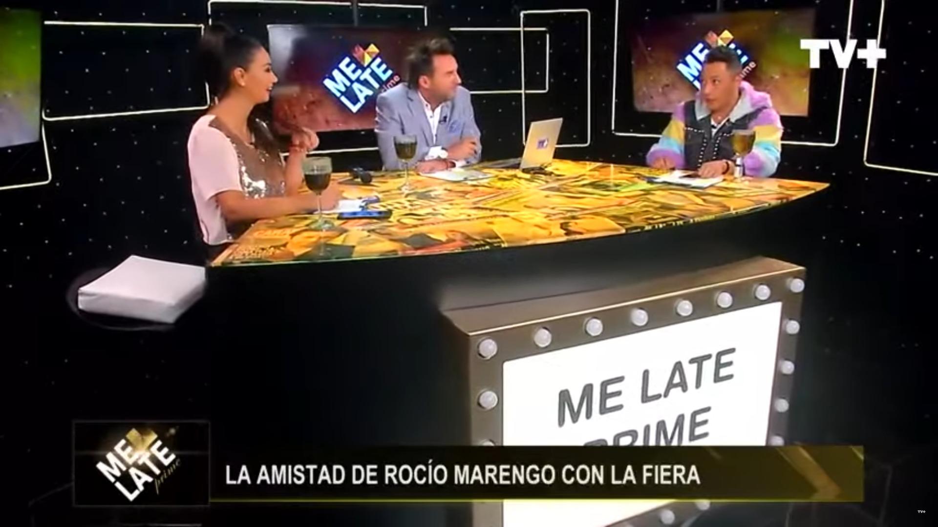 Pamela Díaz, Daniel Fuenzalida y Sergio Rojas