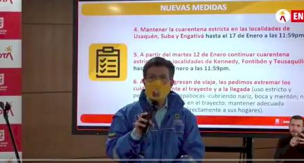 """Jalón de orejas a Claudia López por dar """"explicaciones sin sustento científico"""""""