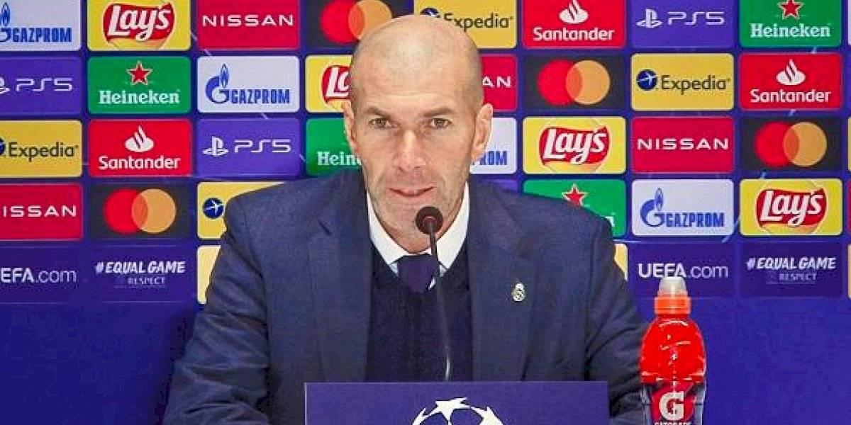 Zinedine Zidane está aislado tras contacto con persona con covid-19