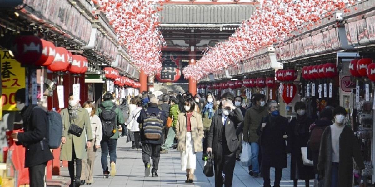 Japón declara emergencia sanitaria en Tokio ante incremento de contagios