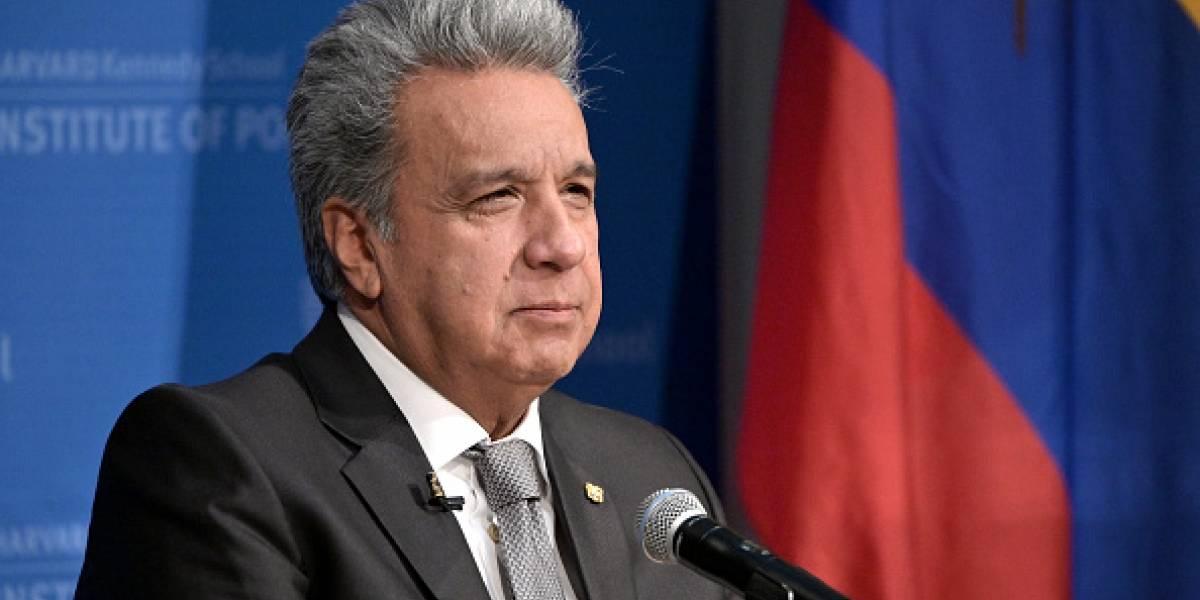 El Presidente Lenín Moreno sufragó en Quito y se pronunció sobre las Elecciones