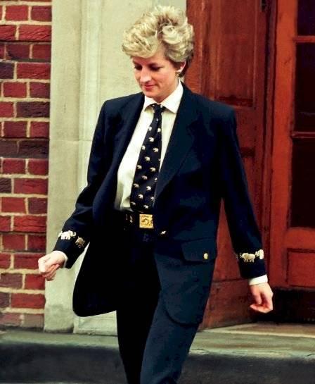 la princesa Diana demostró que la moda se adapta a todo género