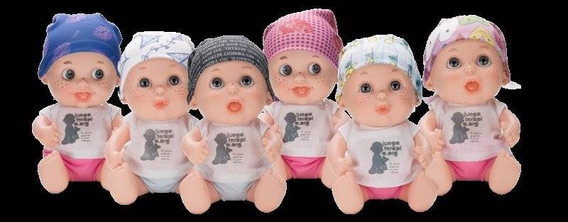 La colección está conformada por 20 Baby Pelones y uno de ellos lleva el nombre de la Shakira.