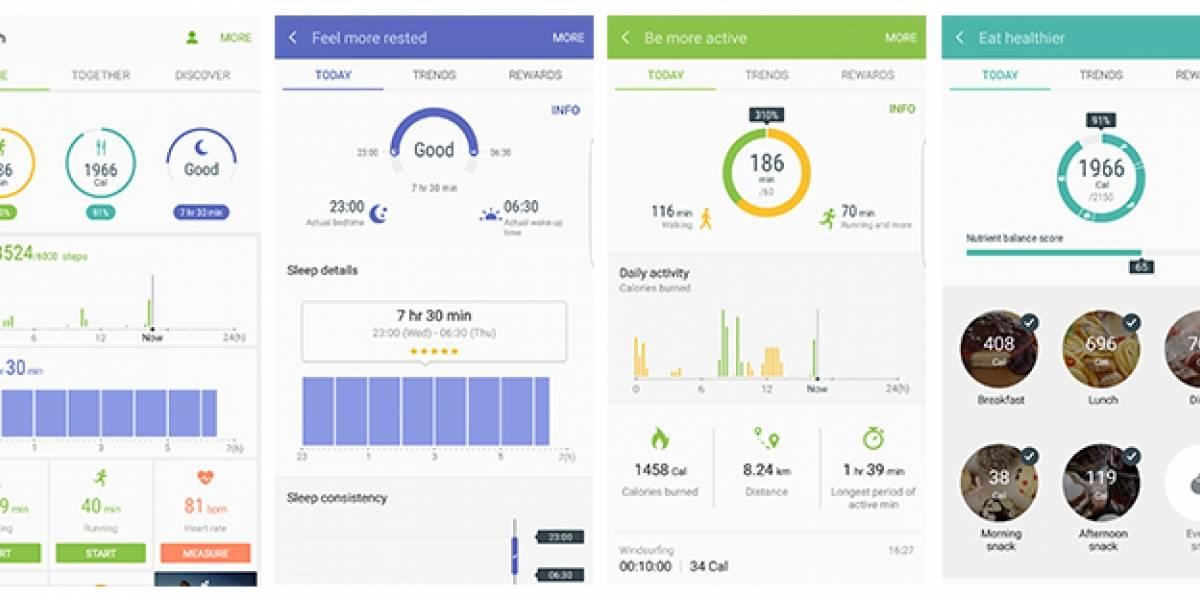 Ahora con Samsung Health podrás desafiar a tus amigos para mejorar los resultados de salud