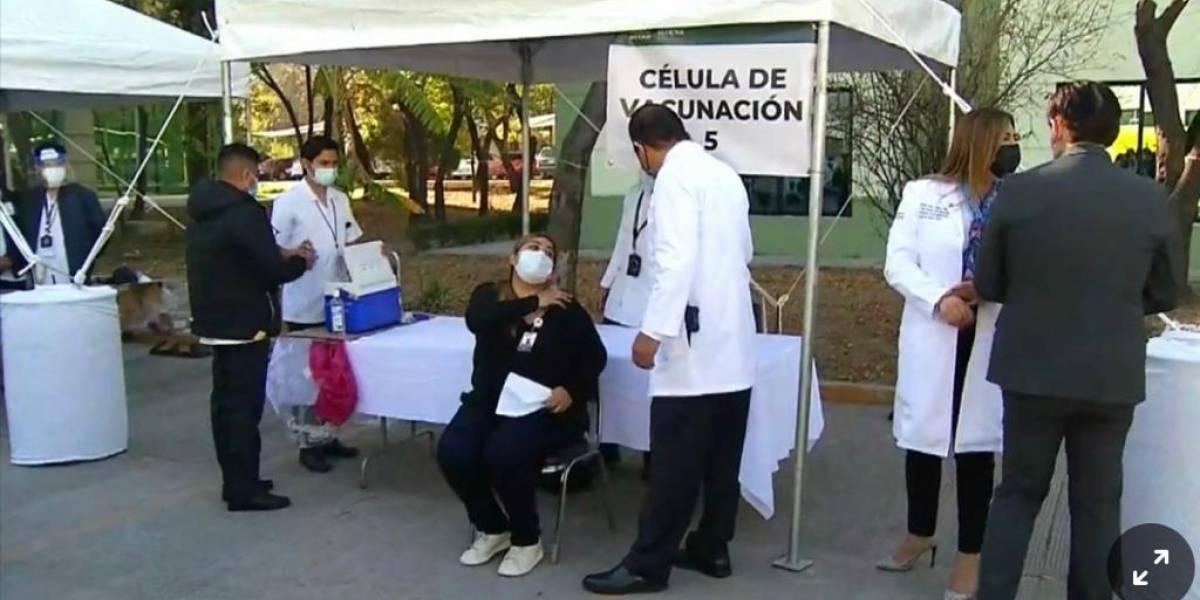 Aplican en Nuevo León segundo lote de vacunas antiCovid