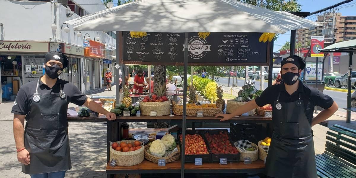 Sabores Ñuñork, el carrito de verduras y delicatessen