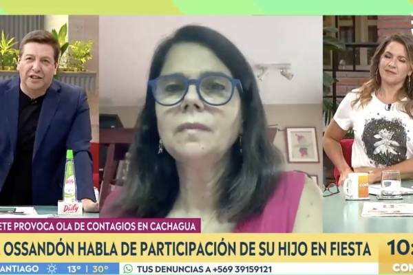 Fuerte descargo de Julio César Rodríguez contra diputada Ossandón por hijos que fueron a fiesta de Cachagua