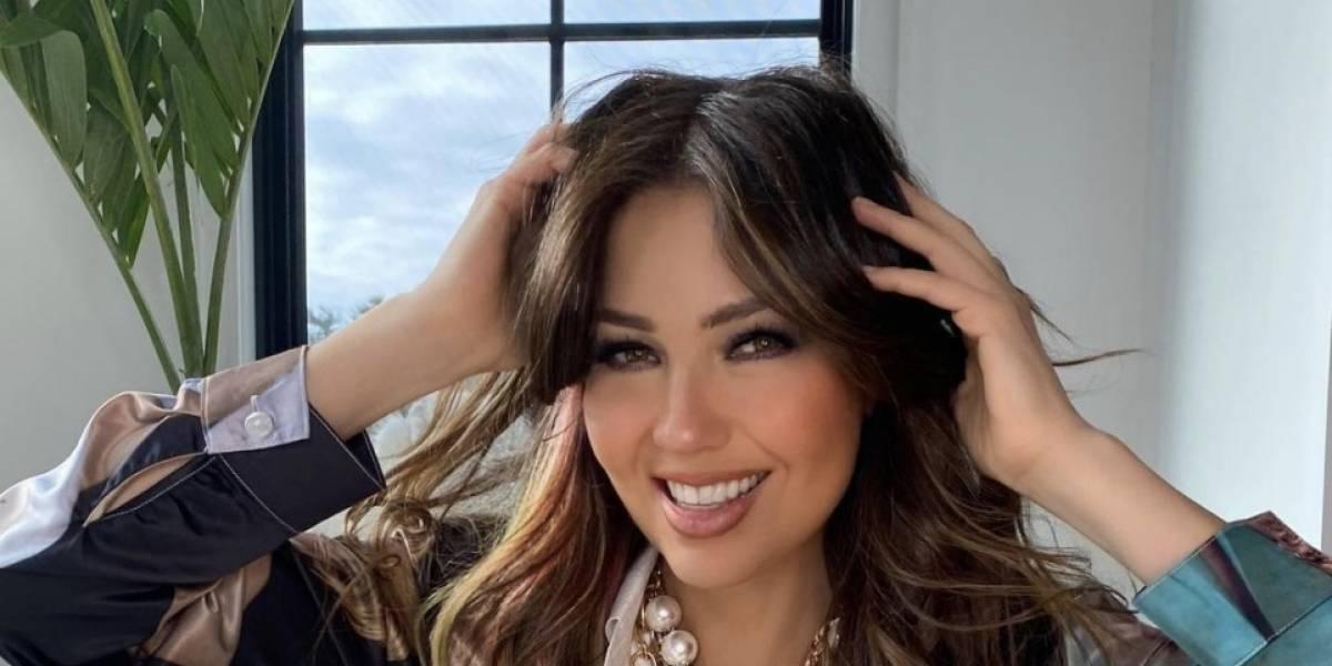 """Parece que """"Bella Aldama"""" se ha apoderado de Thalía"""