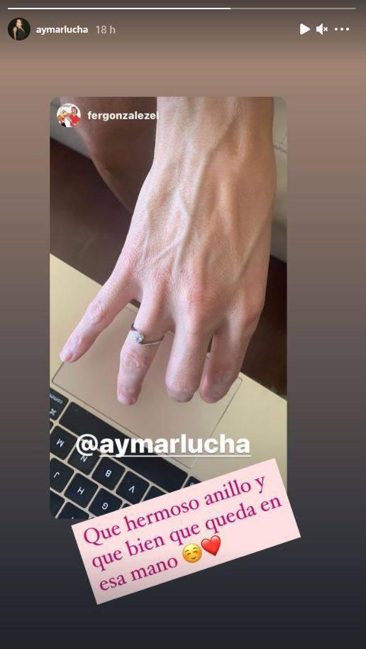 Luciana Aymar y Fernando González