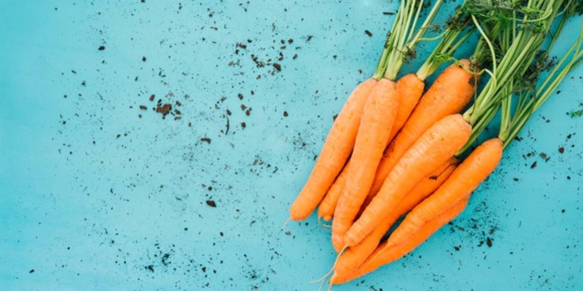 Este é o truque fácil de aplicar para recuperar cenoura murcha