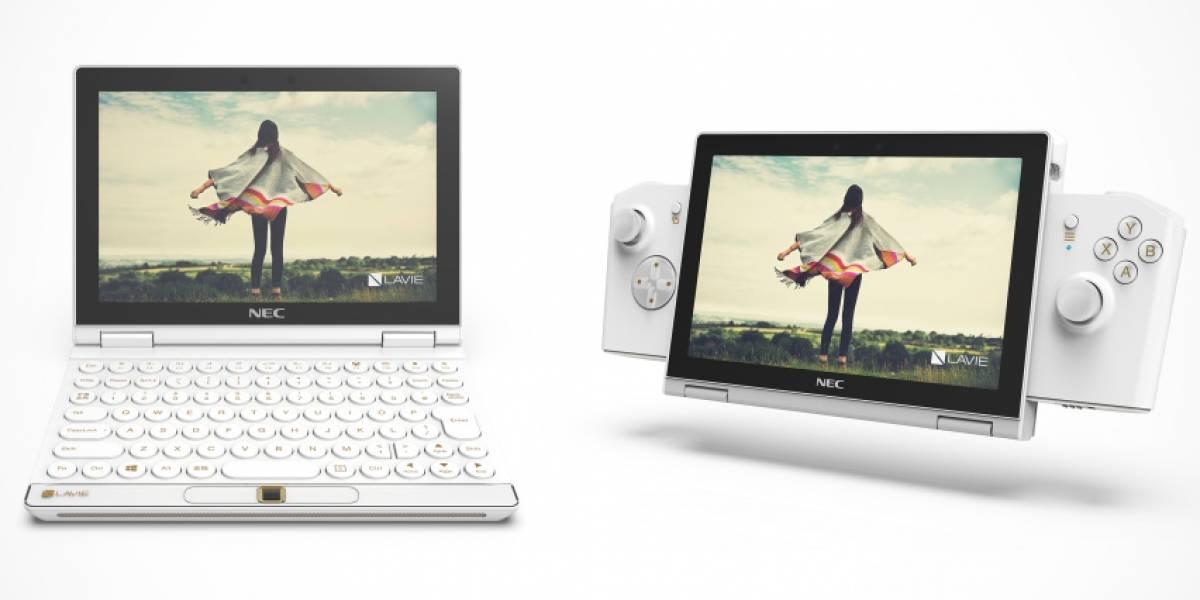 Lenovo lanza un prototipo de netbook llamado Lavie Mini que se adapta como una consola de videojuegos