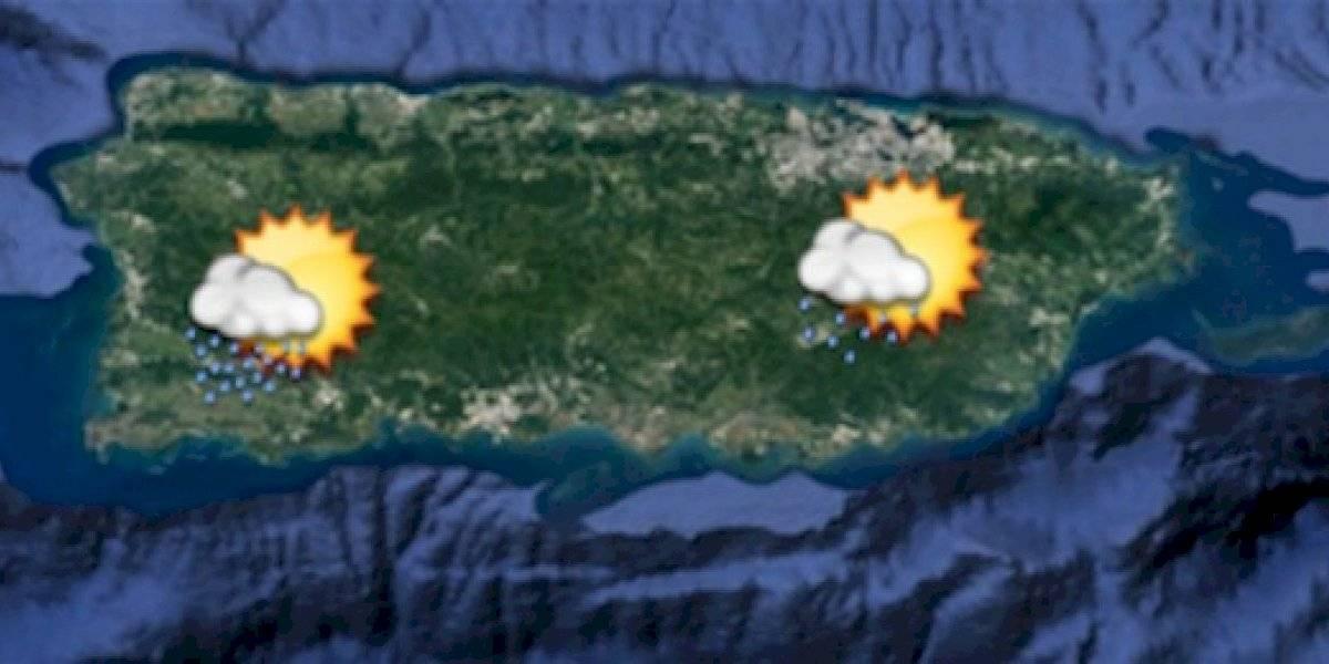 Temperaturas más altas se esperan hoy en Puerto Rico con algunos aguaceros