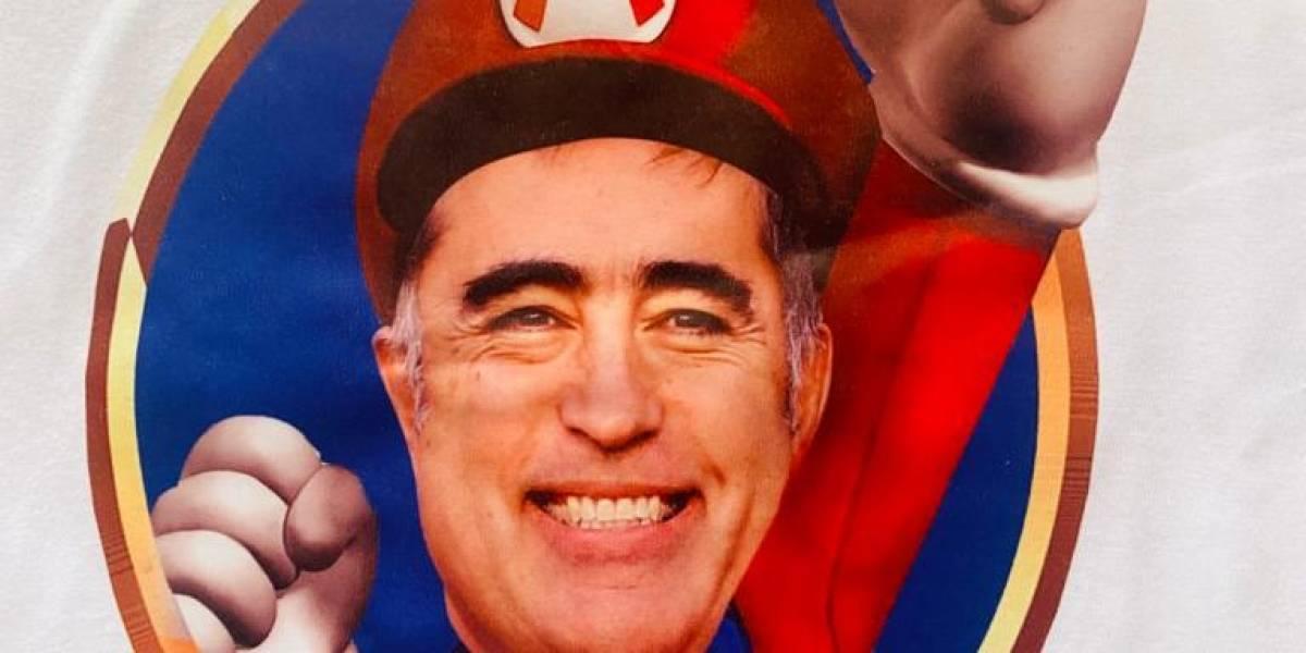 """Desbordes, el """"Super Mario"""" de RN: """"Esperamos que vaya pasando todas las etapas y se convierta en el próximo presidente de Chile"""""""