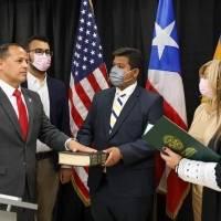 Juramenta el alcalde de Aguadilla