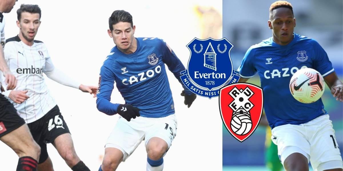 Everton supera tercera ronda de FA Cup con victoria apurada contra Rotherham