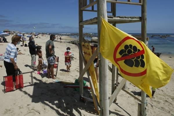 Una bandera amarilla señalizará que las playas tienen el aforo completo y no se puede ingresar en Valparaíso