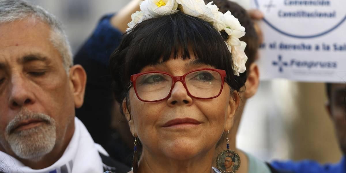 """Malucha Pinto anuncia su candidatura a constituyente: """"Soy una mujer profundamente comprometida con la democracia"""""""