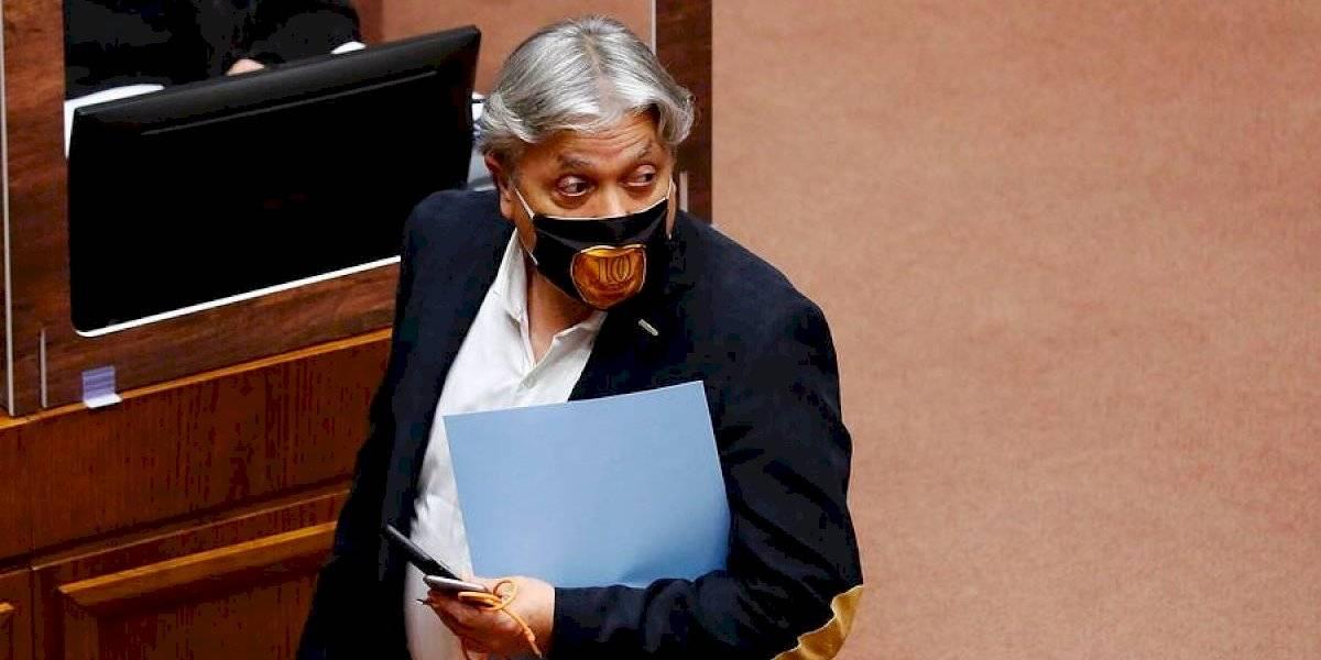 """Senador Navarro reaparece anunciando que llevará el TPP-11 al TC: """"Son insólitas las prioridades del Gobierno"""""""
