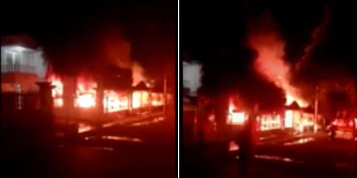 Siete muertos, entre ellos un menor de edad, por incendio en Cúcuta