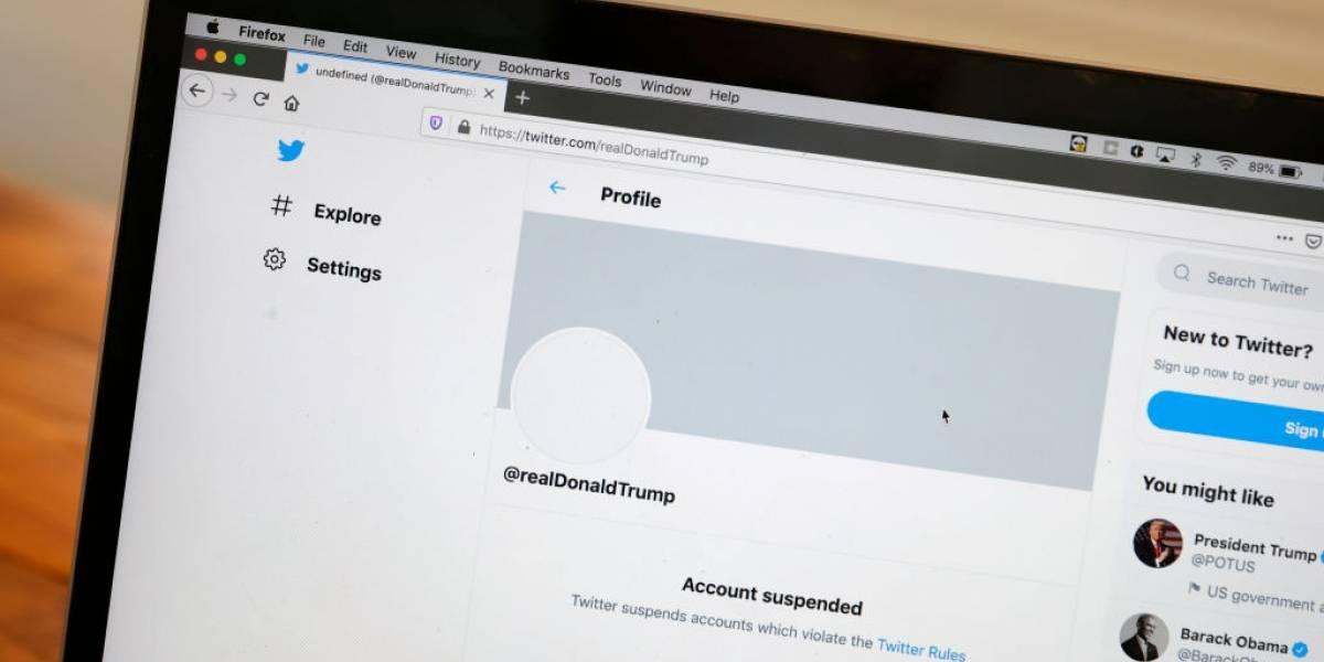 """Peligro público: Trump amenaza con crear nueva red social luego que Twitter cerrara su cuenta por """"violentismo"""""""
