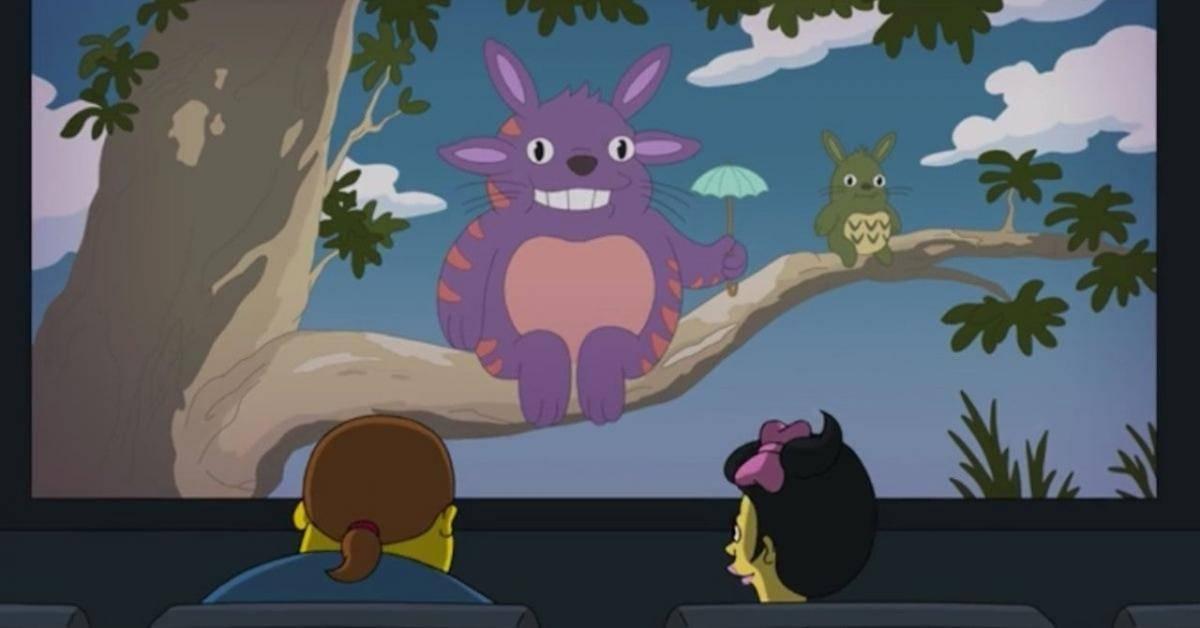 Los Simpson Studio Ghibli