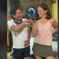 Yaku Perez recuperó a su Manuela Picq y así lo celebró en Tik Tok