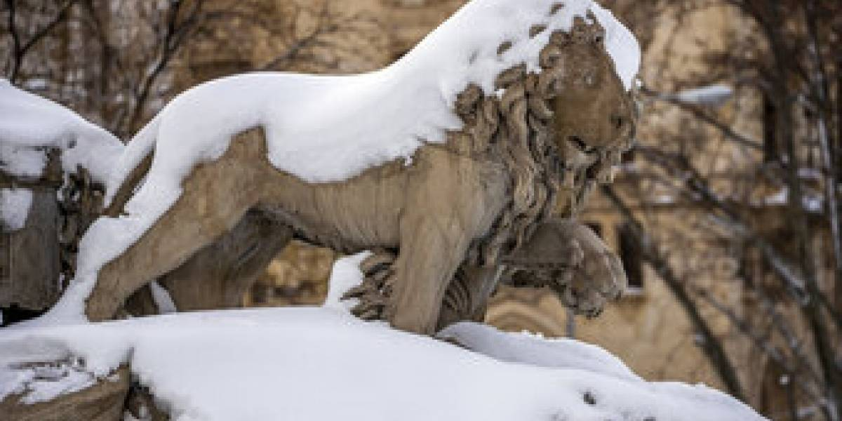 España despeja la nieve de las carreteras para facilitar el transportre y aplicación normal de la vacuna covid