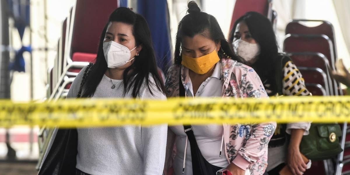 El desgarrador último mensaje de una madre antes de subir al avión que se estrelló en Indonesia