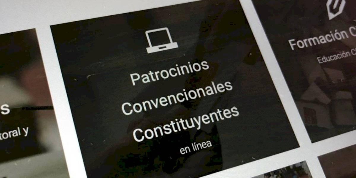 Plataforma da a conocer con detalles a los más de 2 mil precandidatos independientes a la Convención Constitucional