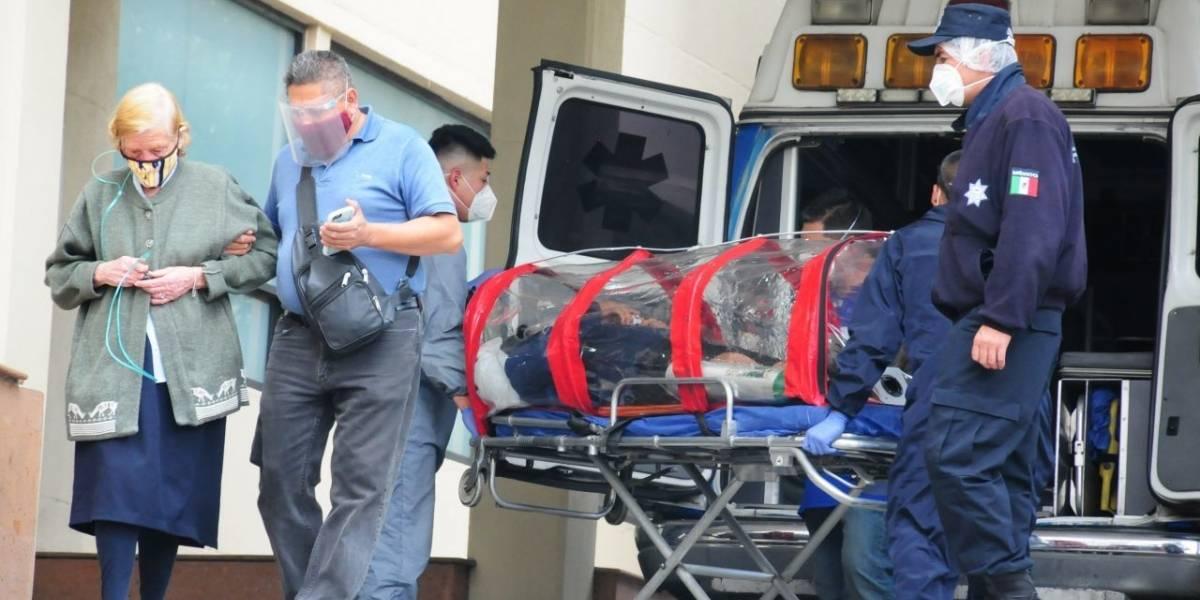 Muertes por Covid-19 ascienden a 133 mil 706; hospitalización alcanza 57%