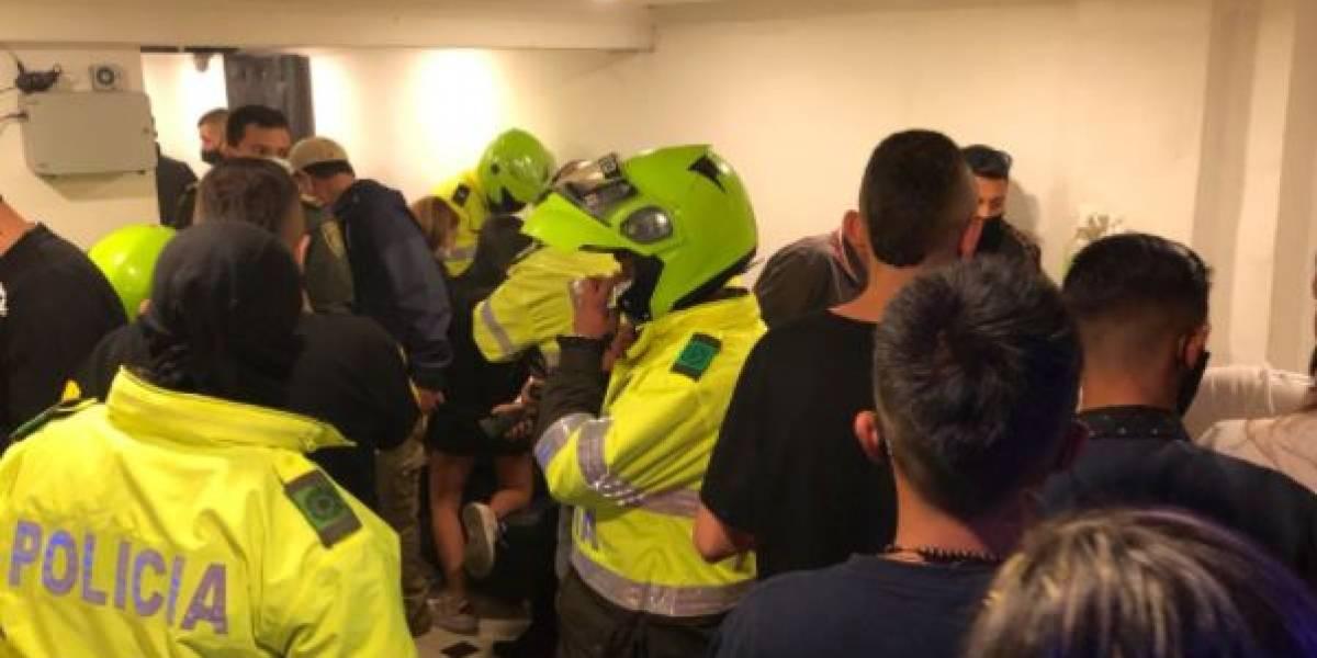 Desmantelan fiesta clandestina con más de 30 personas incluyendo menores de edad en Bogotá