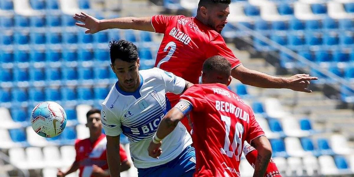 La UC se enreda en San Carlos, pero logra rescatar un empate ante Curicó